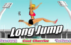 Long Jump athletic design