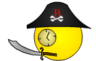 Pirate Clock: The Game by HyundaiClock