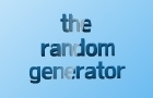 """-The Random Generator-"""