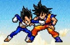 Goku Vs Vegeta V1 by stefnicu2