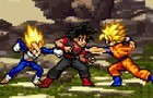 Goku Vs Vegeta part 1