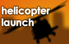 Helicopter Launch by patchycabbage
