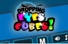 Dropping Eyes Cubes by flippedhorizons
