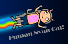 Human Nyan Cat by P4koSeries