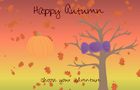 Happy Autumn by pinksharpii