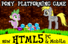 Pony Platform Game by infinitydash