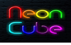 Neon Cube by Stoerwelle