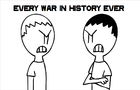 Every War in History Ever by StaticBunny
