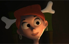 Psycho 3D Cavemen Trailer