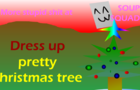 Dress up pretty xmas tree