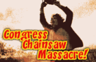 Congress Chainsaw Masacre by Sosker