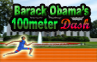 Barack Obama's 100meter D