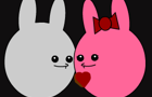 Rabbit Valentines Day