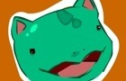 Bulbasaur is excited