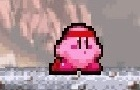 Kirby beats up Sandbag.