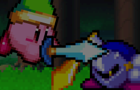 Kirby vs Meta Knight by LoneAlchemist