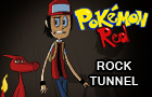 Pokemon Red: Rock Tunnel by TerminalMontage