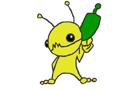 Draw: Alien Hominid