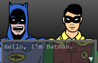 PSA - Batman and Robin by thebigbadbasenji