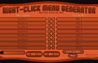 Right-Click Menu Gen. V2 by Wikkiski