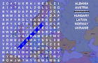 Wordsearch: European Coun by simplynichegames