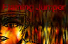Flaming Jumper by SunriseKingdom