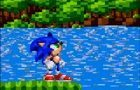 Sonic sprite movie test by Codeman160