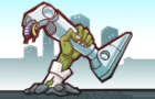 Robots vs Zombies 2 by Badim