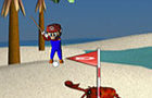 Mario beach golf