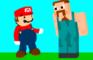 Mario Crosses Minecraft