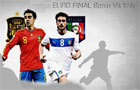 EURO final: spain v italy by fortunacus