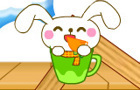 Rabbit Eats Carrot