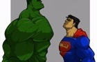 Superman vs Hulk by Rojay101