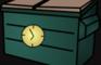 Dumpster Ruins Clock Day