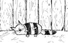 Pticha and cat