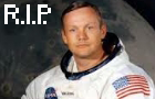Farewell, Neil Armstrong. by DurianClock