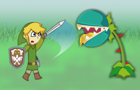 Zelda Skyward Sword 2D by Barquero