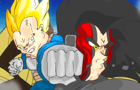 Fan Drawn Episode of DBZ by DangerousBob
