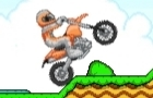 Orange Motorbike Racing by flanbit