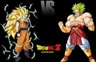 Goku VS Broly (FlashAnim) by HashimDaAnimator