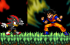 Goku v.s Shadow by Alvc57