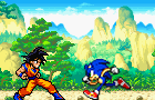 Goku vs sonic part 1