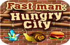 Fast Man Hungry City by adrianmarik