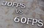 30 FPS vs 60 FPS