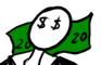 Slender wants 20 Dollars