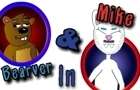 Bearver & Mike: Ep. 2,306 by happyfatties