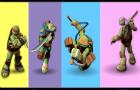 TMNT Colours Memory