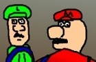 Mario and Luigi are gay