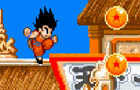 Dragon ball z Goku jump by zsoldiers