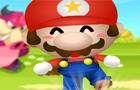 Mario Kicks Mushrooms